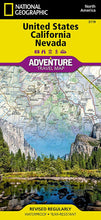 Load image into Gallery viewer, United States, California and Nevada Adventure Maps EVMAPLINK