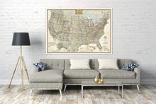 Load image into Gallery viewer, United States Executive Map [Enlarged] Wall Maps EVMAPLINK