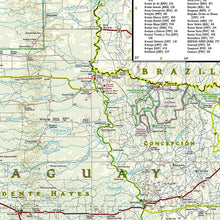 Load image into Gallery viewer, Uruguay, Paraguay Adventure Maps EVMAPLINK
