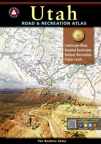 Utah Road & Recreation Atlas Benchmark Maps EVMAPLINK