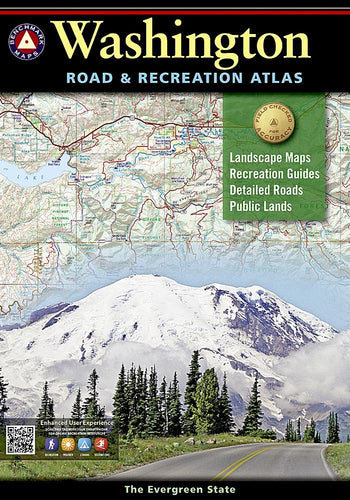 Washington Road & Recreation Atlas Benchmark Maps EVMAPLINK