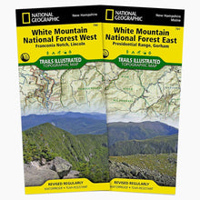 Load image into Gallery viewer, White Mountain National Forest [Map Pack Bundle] Trails Illustrated Maps Bundle Map-N-Hike