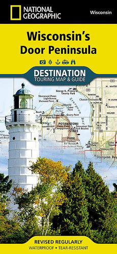 Wisconsin's Door Peninsula Destination Maps EVMAPLINK