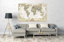 Load image into Gallery viewer, World Executive Map [Enlarged] Wall Maps EVMAPLINK