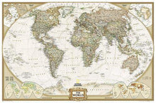 Load image into Gallery viewer, World Executive Map [Enlarged] Wall Maps EVMAPLINK Tubed
