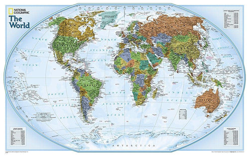 World Explorer Map Wall Maps EVMAPLINK Tubed