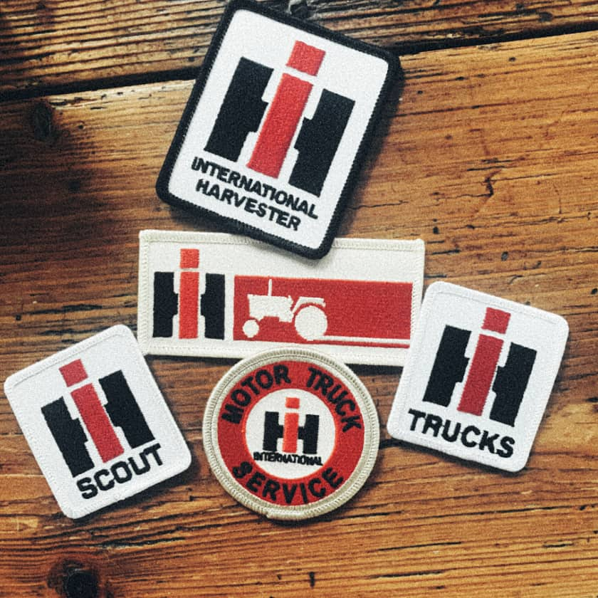 international harvester patches