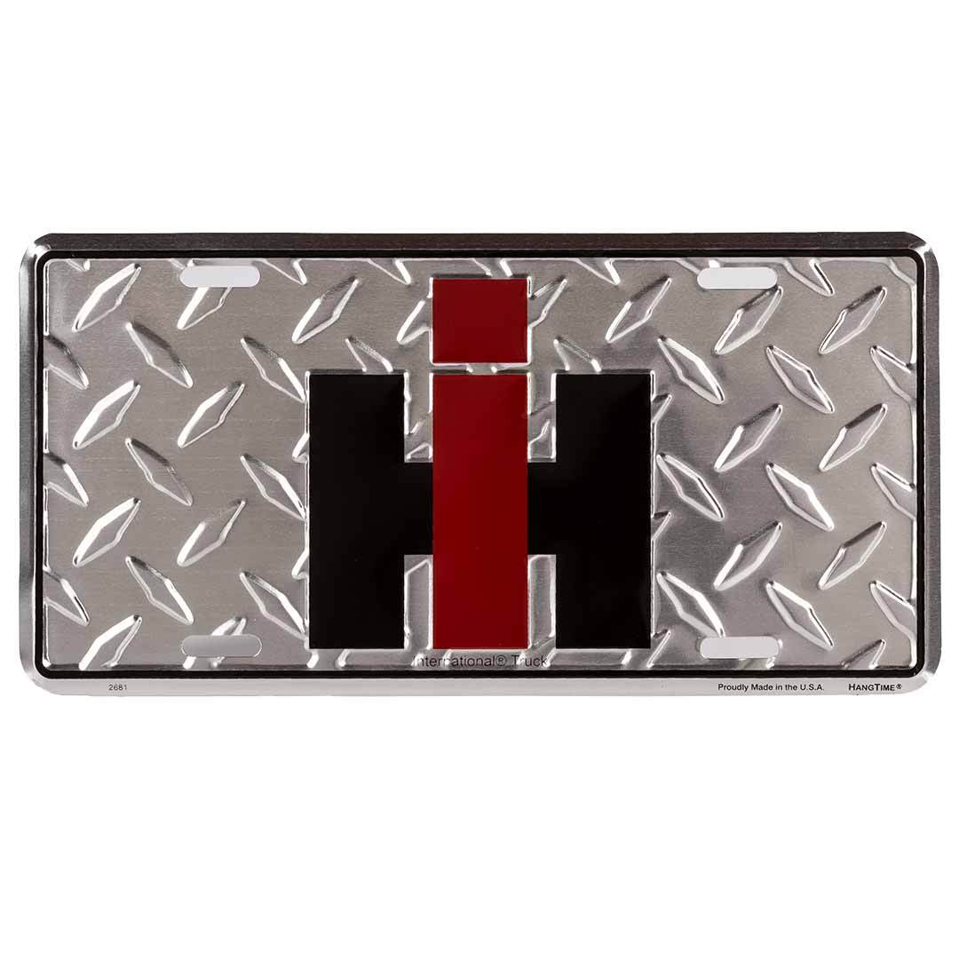 International Harvester IH Logo License Plate