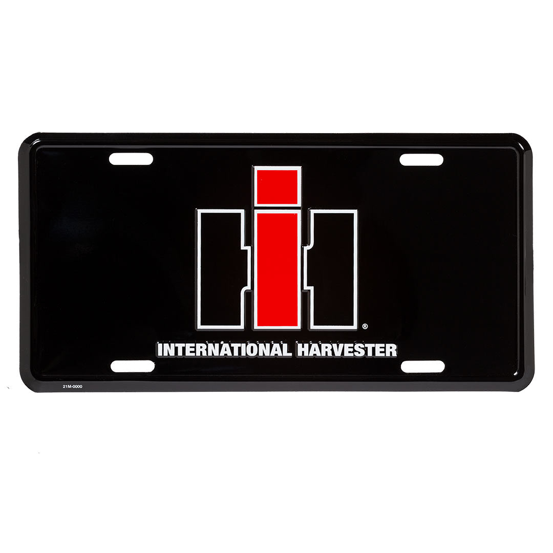 International Harvester IH License Plate
