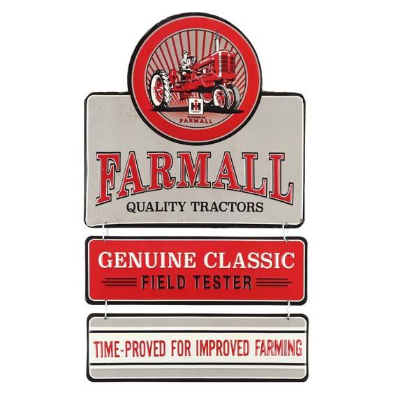 IH Farmall Geniune Tractor Sign