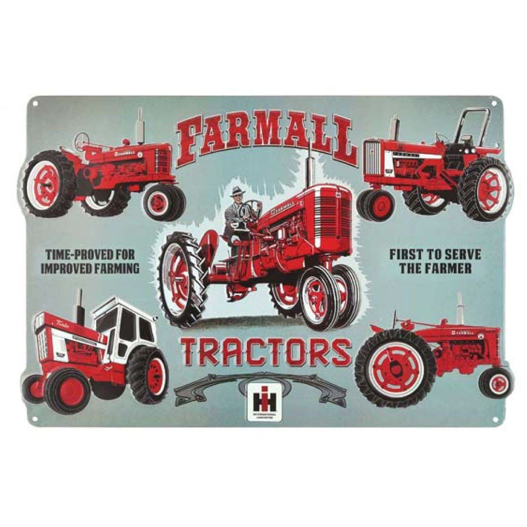 farmall case ih tractor sign