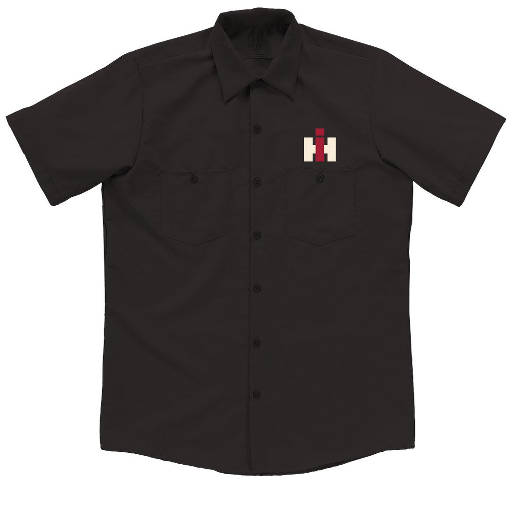 IH Logo Button Down Garage Shirt