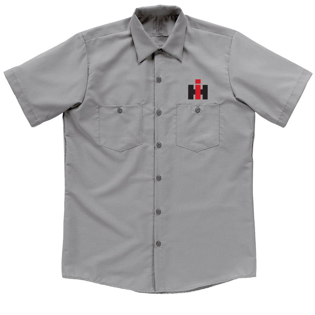 International Harvester Garage Shirt Light Grey