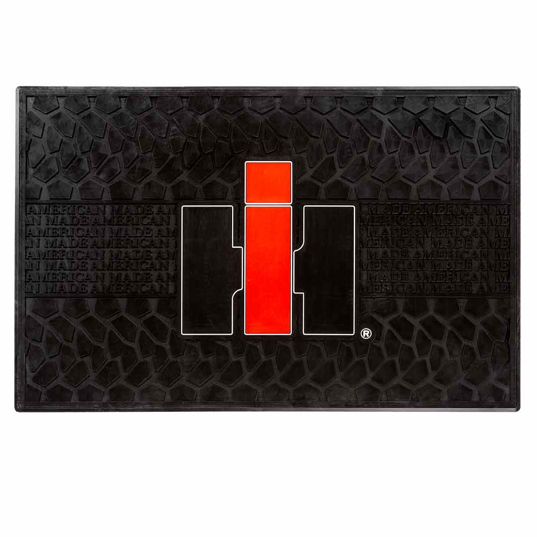 international harvester logo utility floor mat