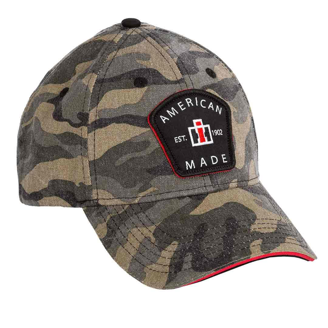 International Harvester American Made Camo Cap