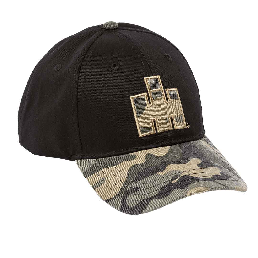 IH Two Tone Washed Camo Cap
