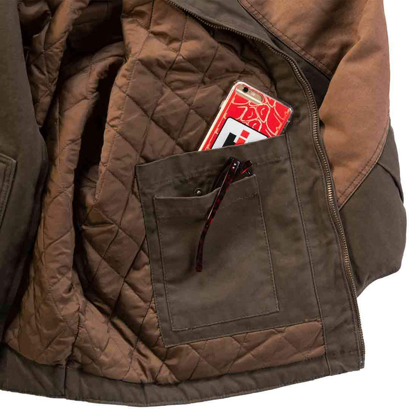 IH Logo Canvas Chore Jacket