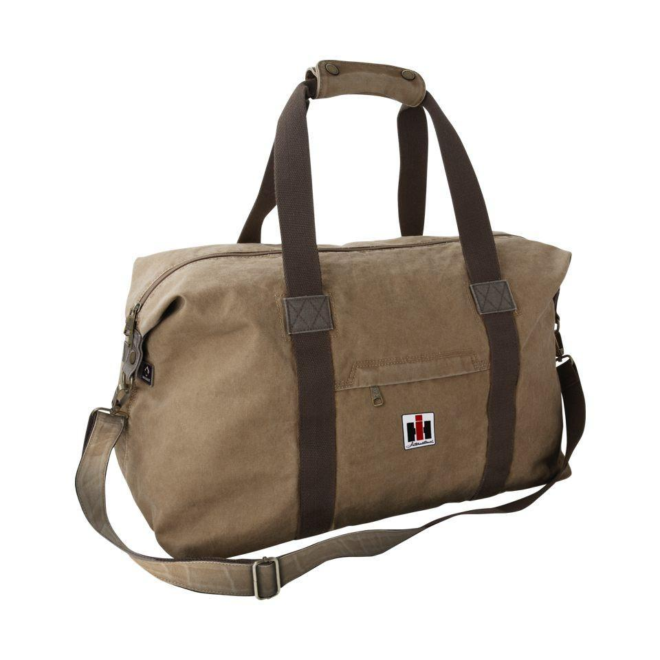 weekend travel bag with ih logo