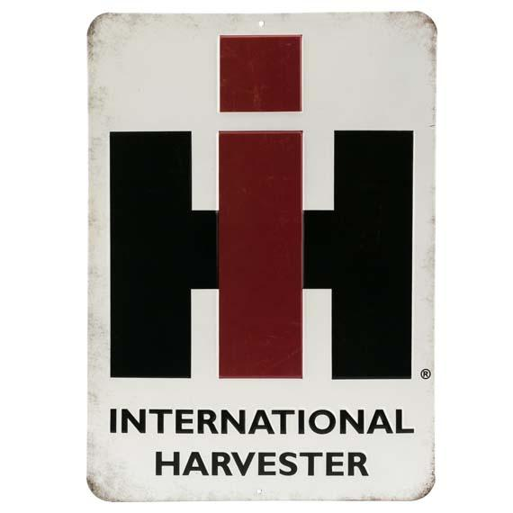 International Harvester Logo Sign