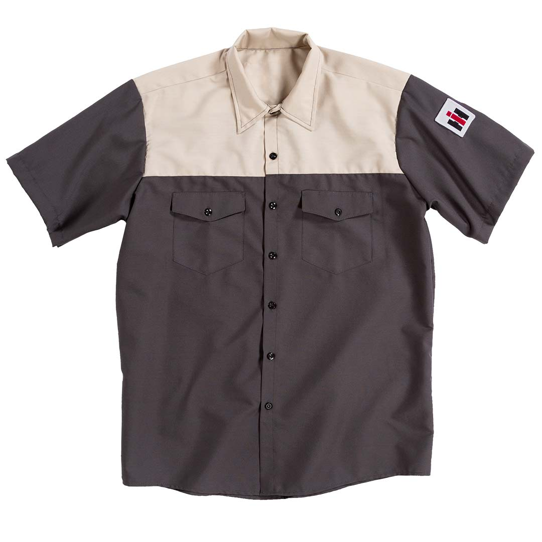 International Harvester Parts and Service button down shirt