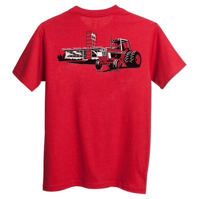 case ih tractor red tee shirt