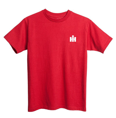 International Harvester red tee shirt with logo