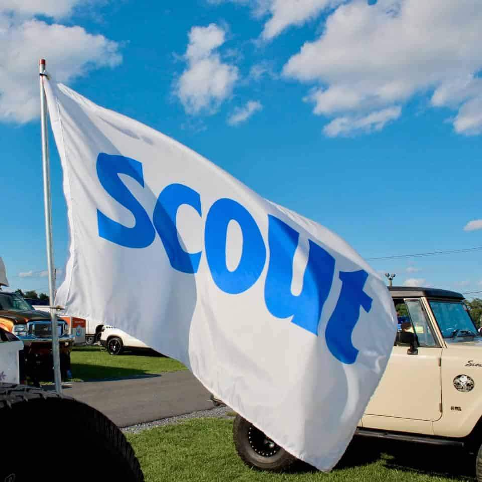 IH Scout Flag