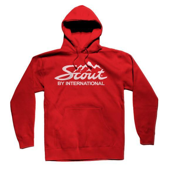 IH Scout Mountain Logo Pullover Hooded Sweatshirt