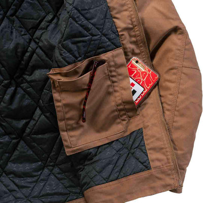 Inside pocket for iPhone with the IH Work Jacket