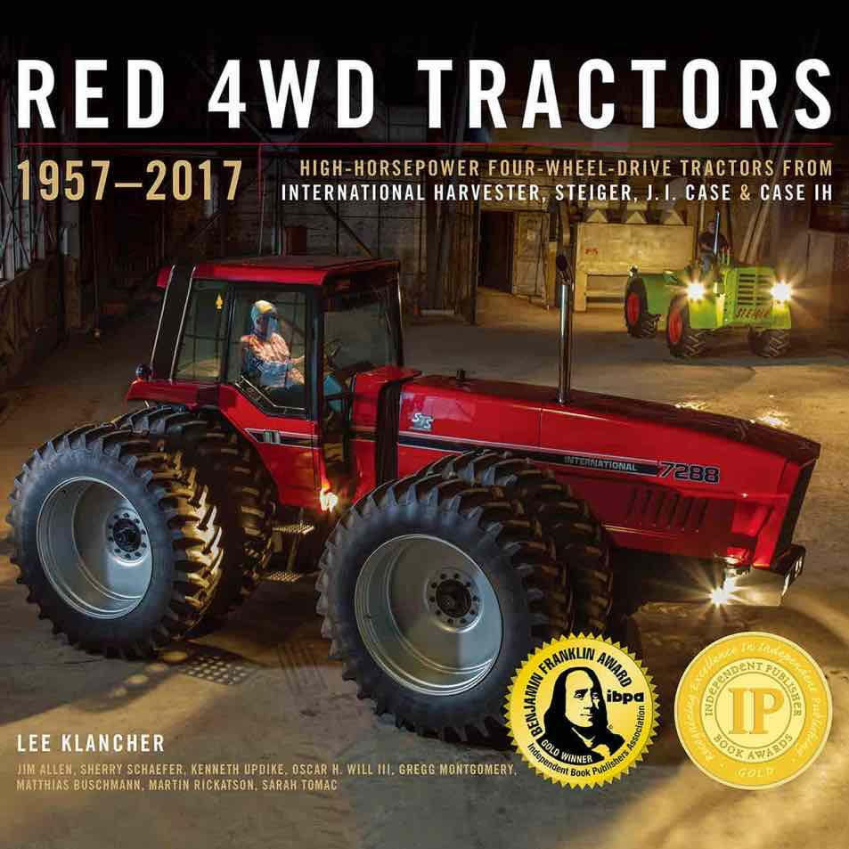 IH 4WD Red Tractor Book