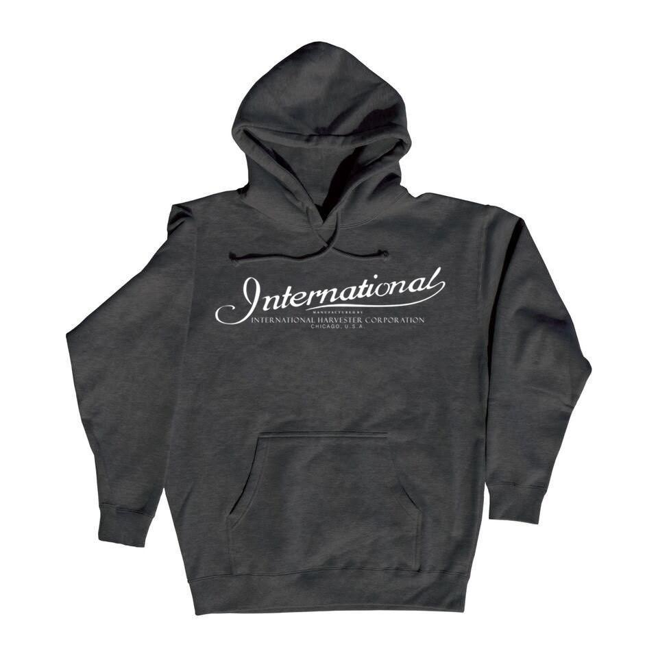 Licensed Scripted International Harvester Pull Over Hooded Sweatshirt