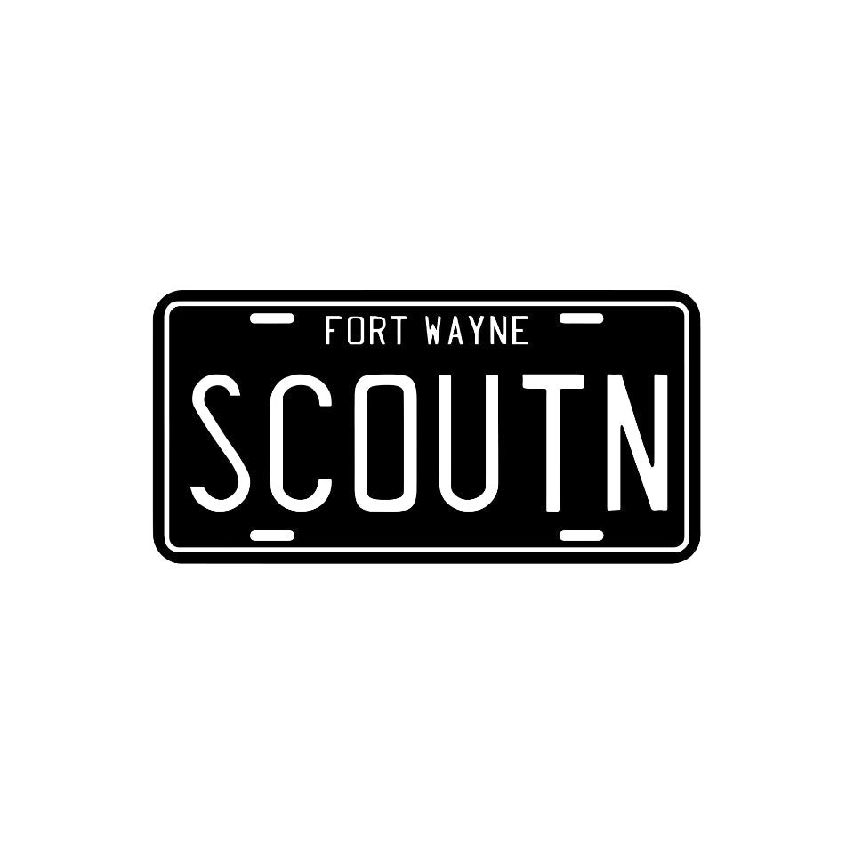 ih scout fort wayne sticker