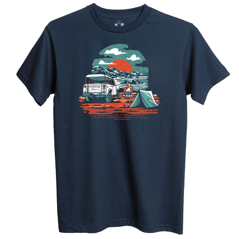 International Harvester Scout Overland Tee Shirt