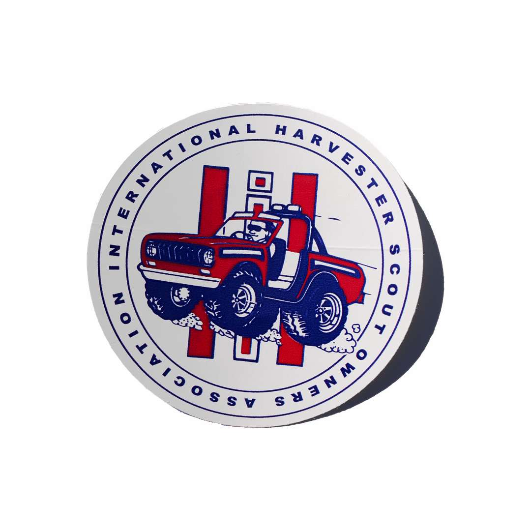 Scout Owners Association Decal