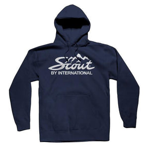 IH Scout Classic Hooded Navy Sweatshirt
