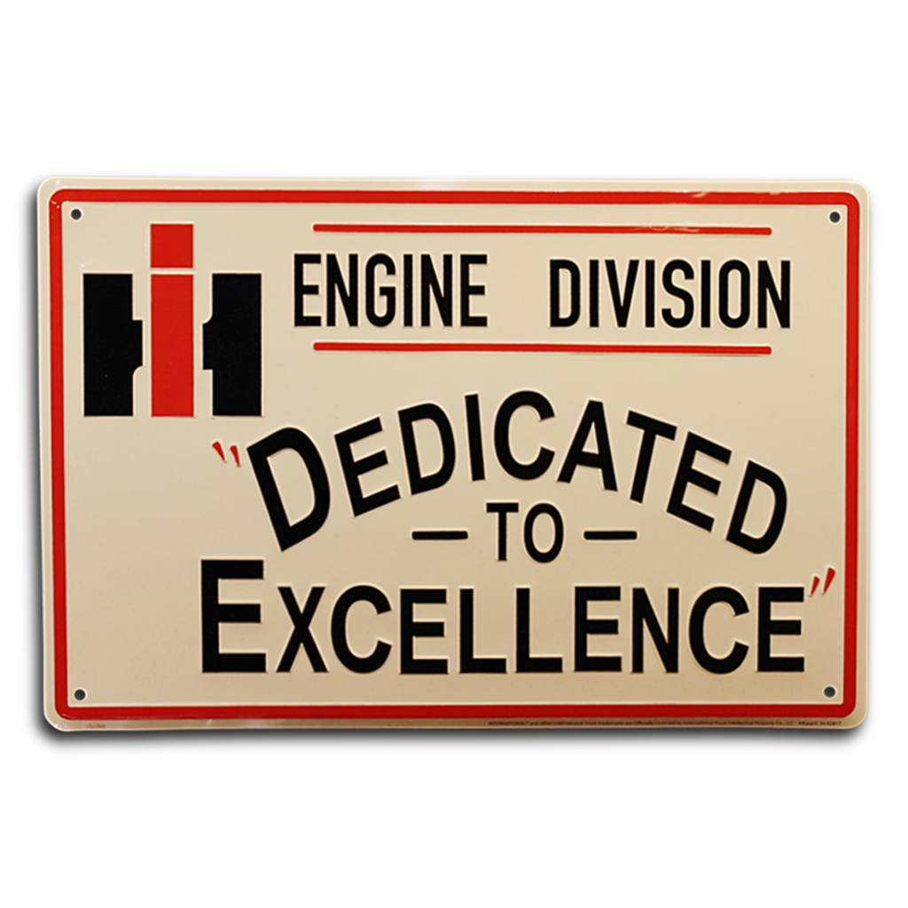 International Harvester Engine Division Sign