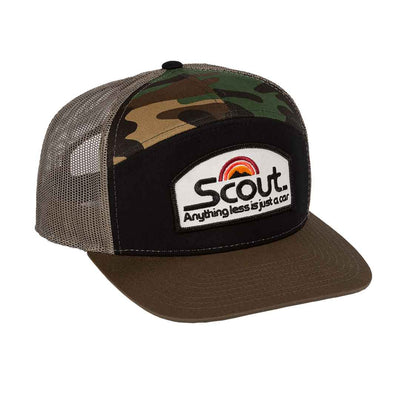 international harvester ih scout trucker hat