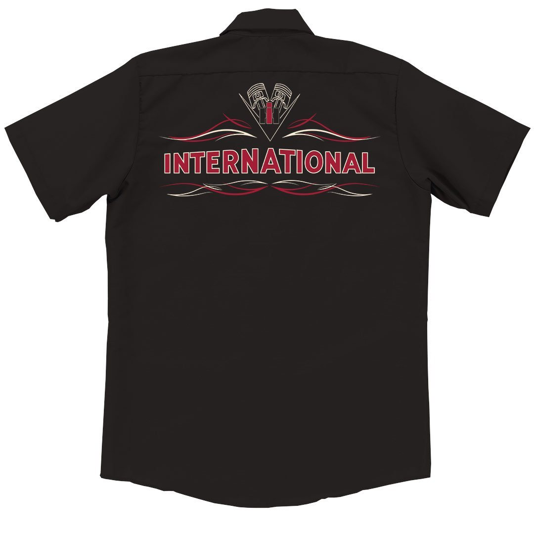 Internatonal Harvester IH Piston Garage Shirt