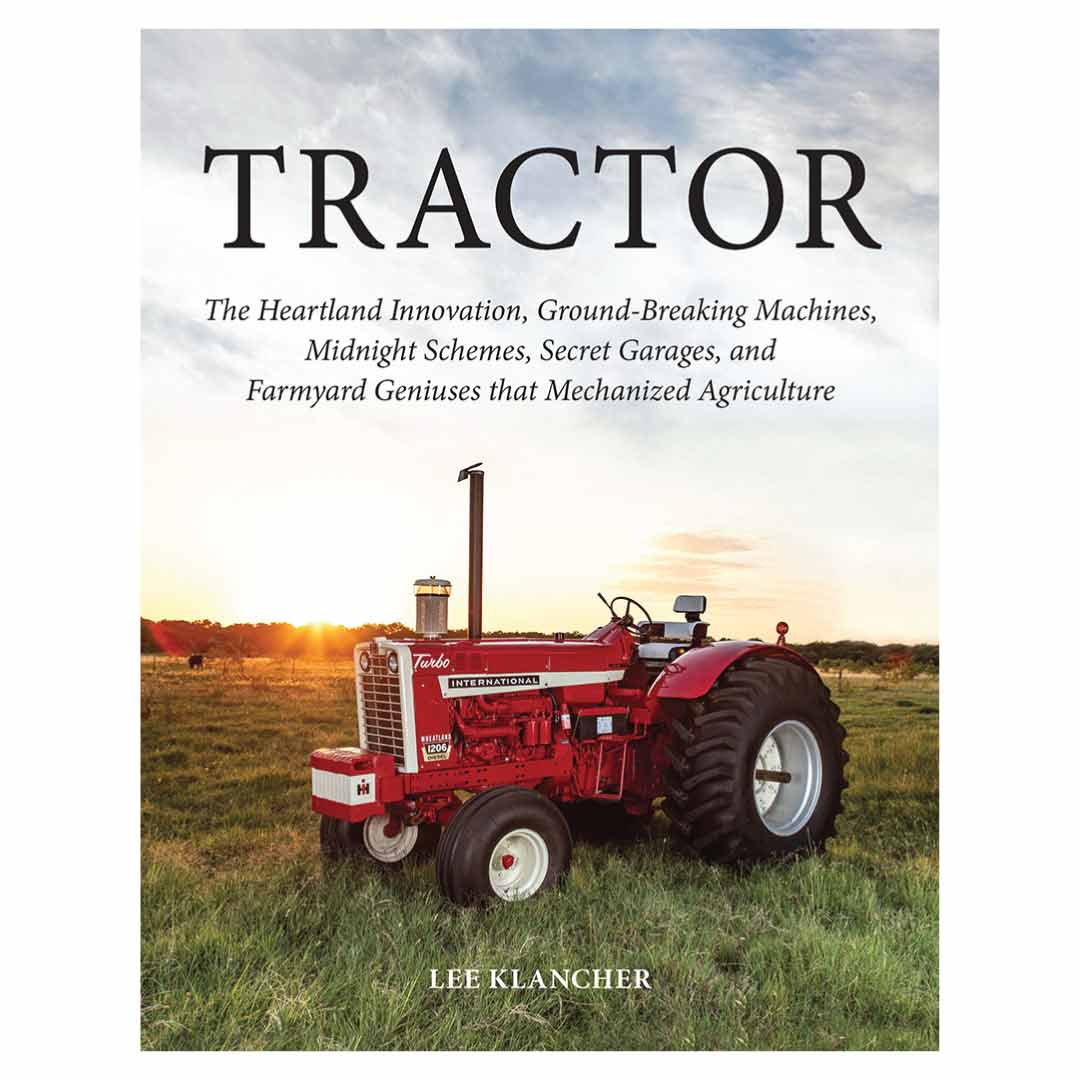 International Harvester Red Tractor Limited Edition Book