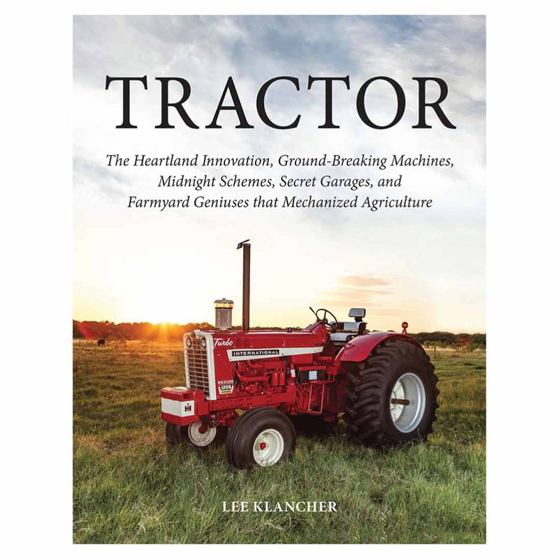 Limited Edition Red Cover Tractor Book