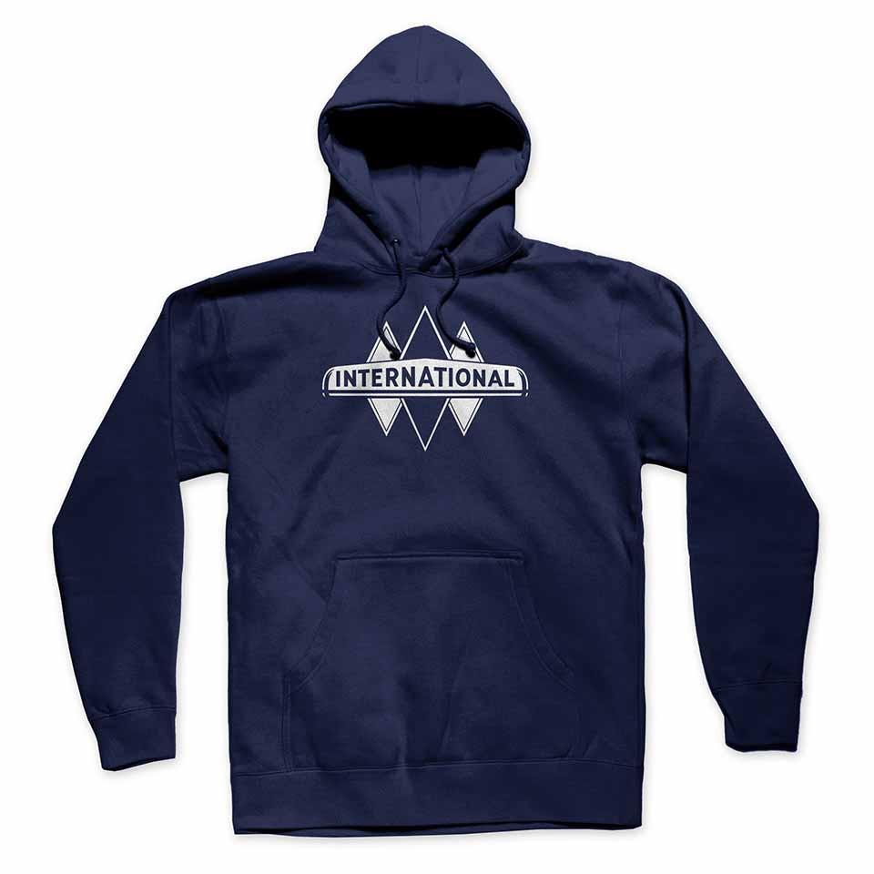 International Harvester IH Triple Diamond Navy Sweatshirt