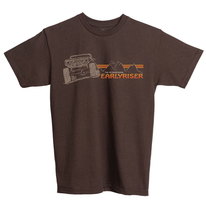 Brown IH Scout II tee shirt with vintage look.