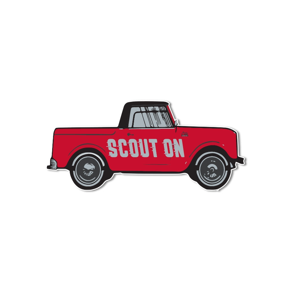 Scout On Sticker