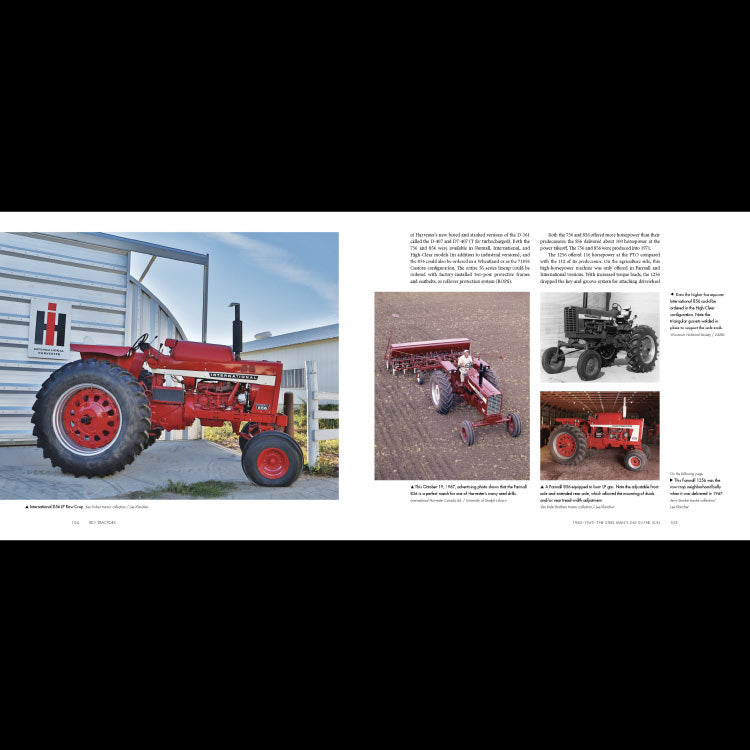 IH Red Tractors 1958-2018 NEW EDITION Book
