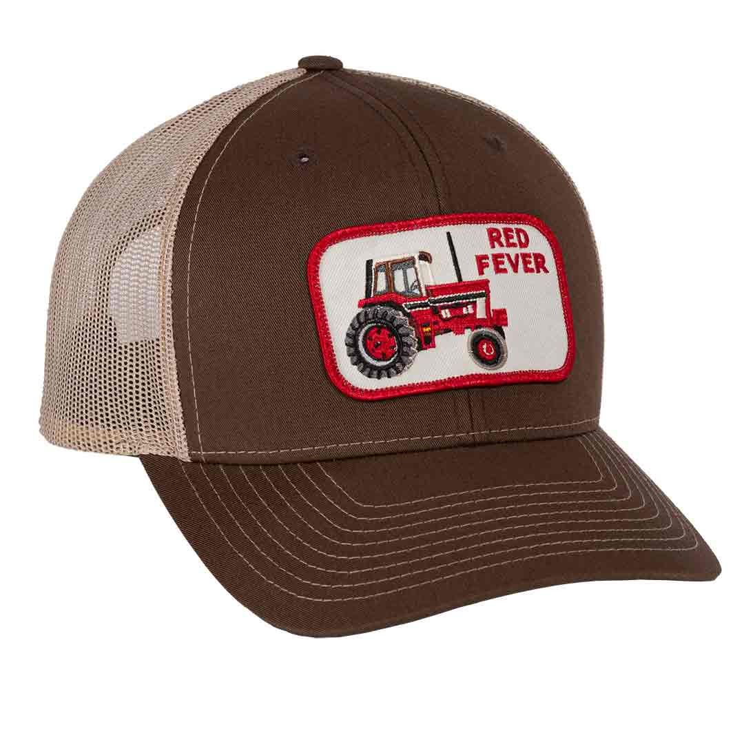 international harvester red tractor fever hat