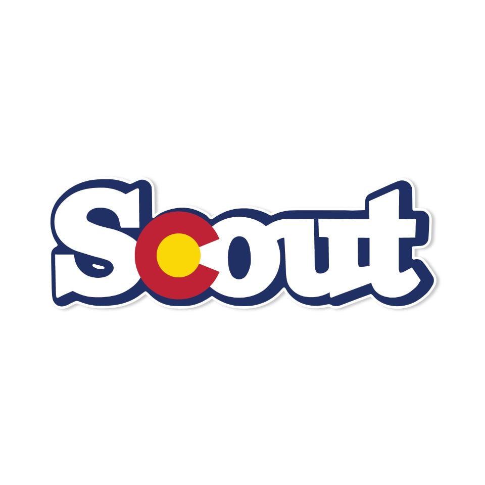 IH Scout Colorado Sticker