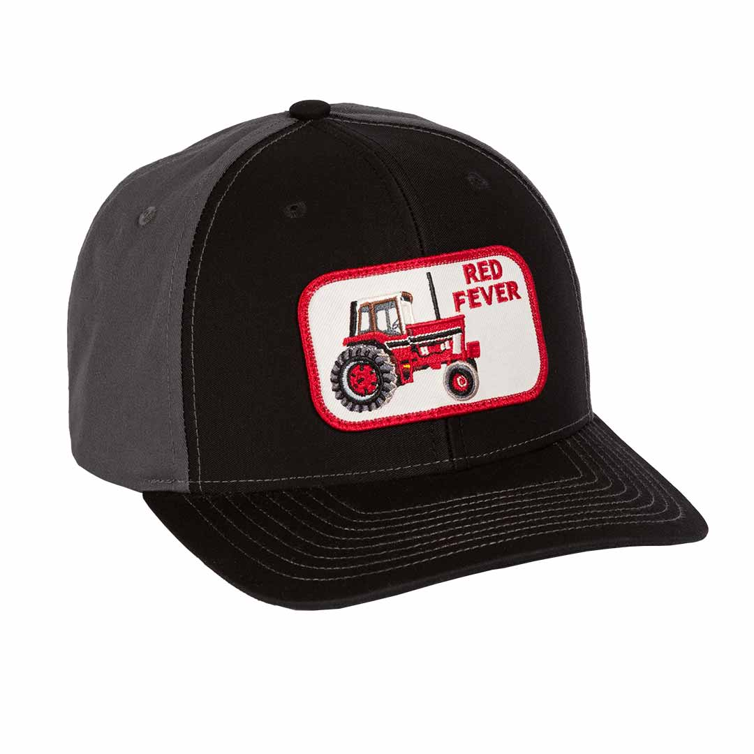 ih red fever tractor twill hat