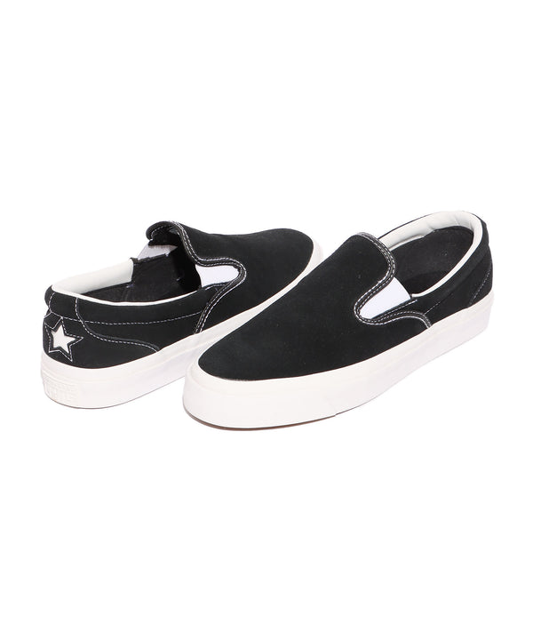 CONS/コンズ ONE STAR CC SLIP 160545C BLACK/WHITE/WHITE