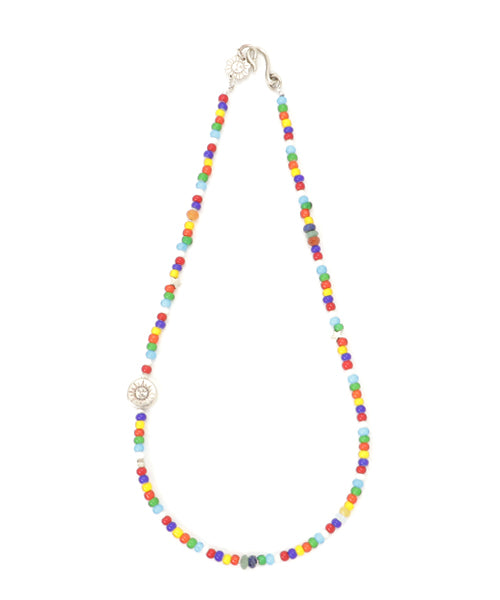 AkasicTree/アカシックツリー WHITE HEART BEADS NECKLACE AT-1-01-M