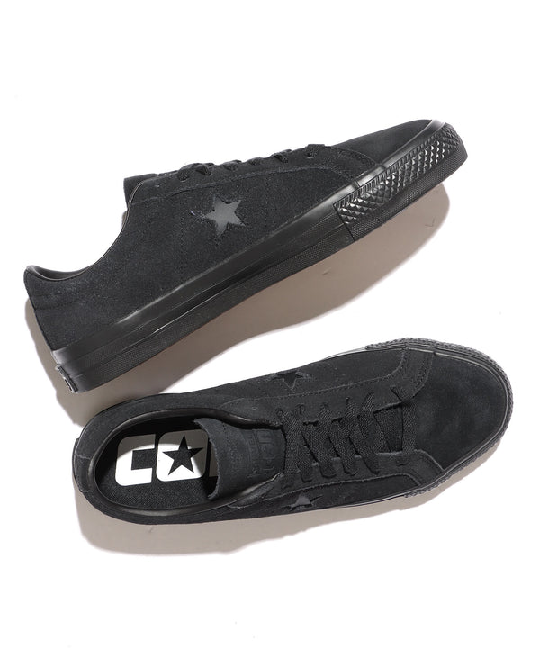 CONS/コンズ ONE STAR PRO OX 166839C BLACK/BLACK/BLACK
